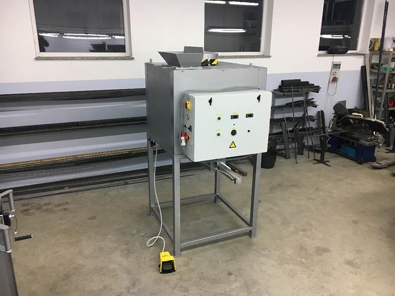 Máquinas de llenado para capacidades más pequeñas